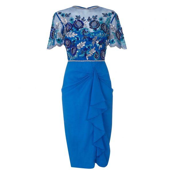 Virgos Lounge Eloise Turquoise Dress