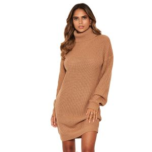 Camel Jumper Dress