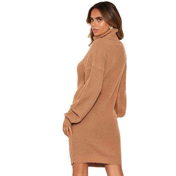 Camel Jumper Dress