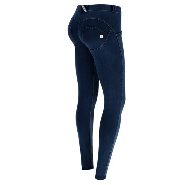 Freddy Dark Denim Mid Rise Jeans