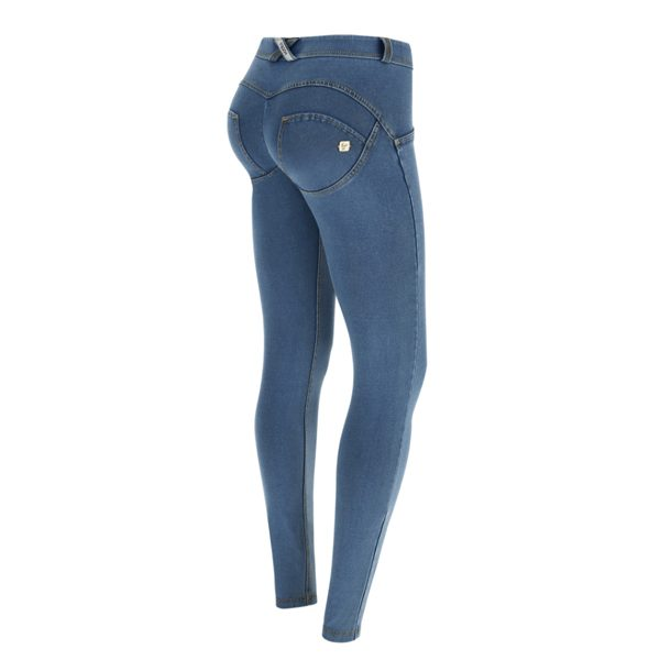 Freddy Light Denim Mid Rise Jeans 7/8
