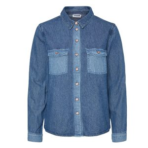 Contrast Denim Shirt