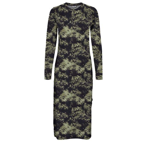 Khaki and Black Camouflage Dress