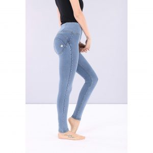 Freddy Light Denim High Rise Jeans