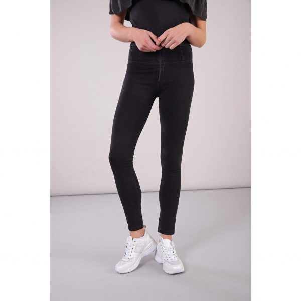 Freddy Black Denim High Rise Full length Jeans