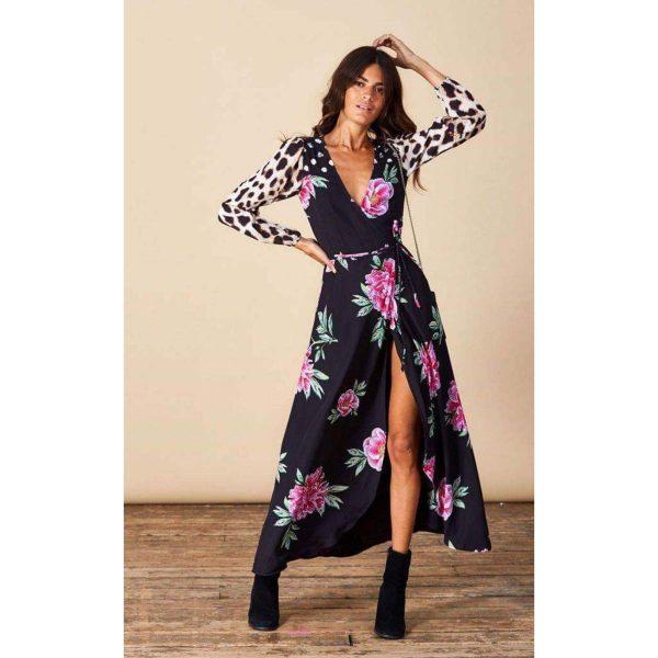 Dancing Leopard Jagger Maxi Print Mix