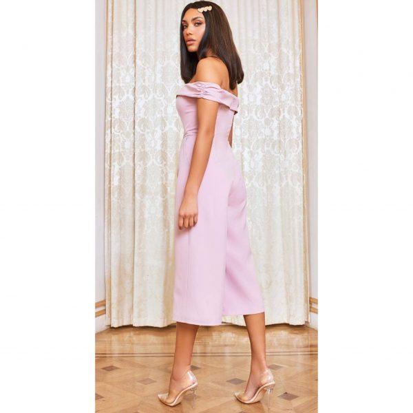 Lilac Bardot Jumpsuit