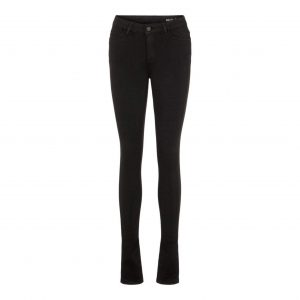 Noisy May Lucy Power Shape Jeans Black Denim