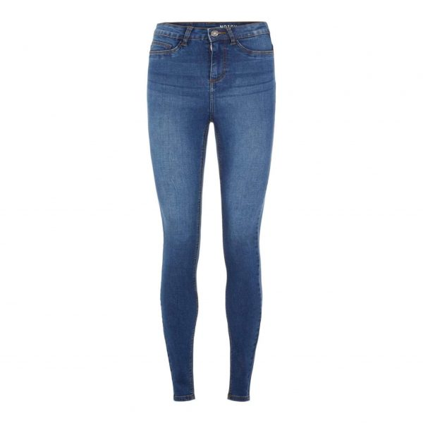 Noisy May Lucy Power Shape Jeans Blue Denim