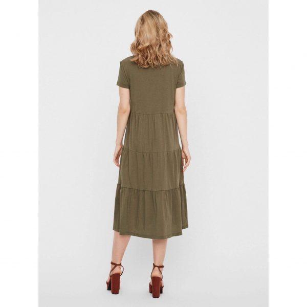 Green Smock T-shirt dress