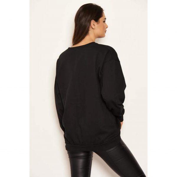 Vogue Sweatshirt Black