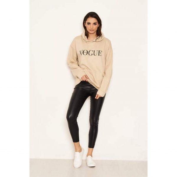 Vogue Hoody Stone