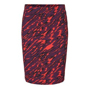 Purple and Red Camo Skirt