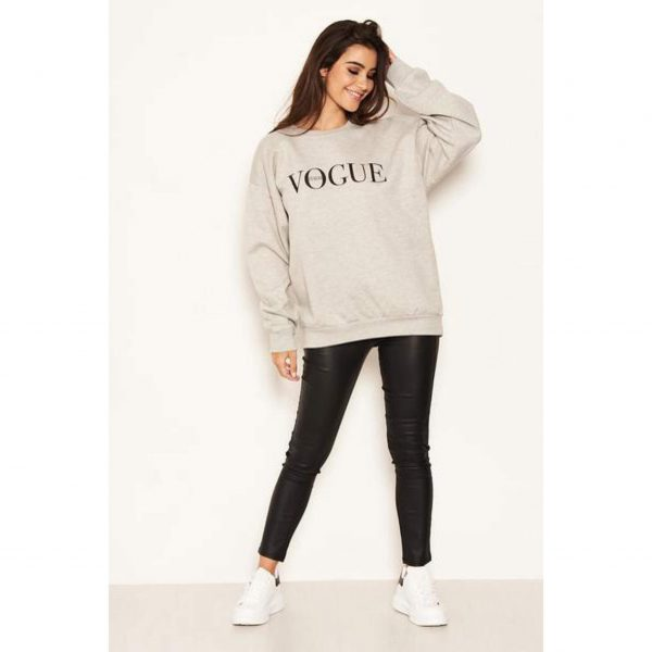 Vogue Sweatshirt Grey