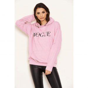 Vogue Hoody Pink