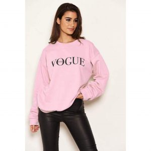 Vogue Sweatshirt Pink