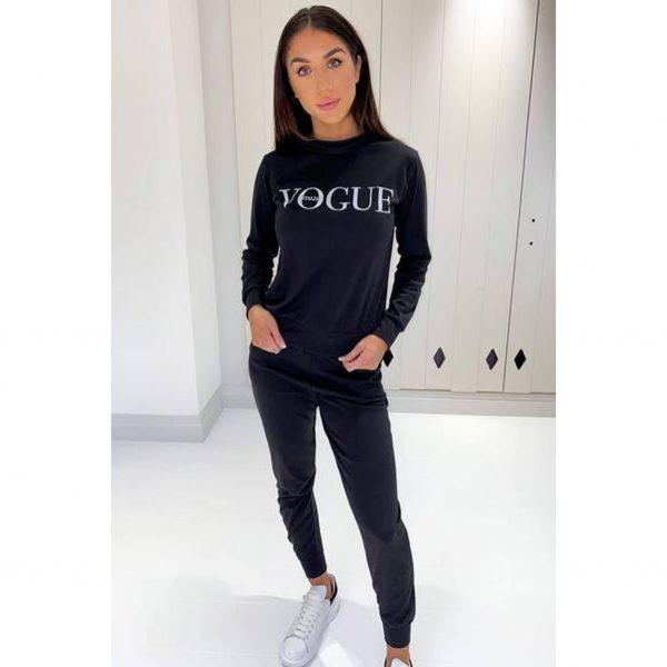 Black Vogue Loungesuit