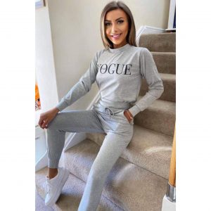 Grey Vogue Loungesuit