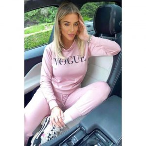 Pink Vogue Loungesuit