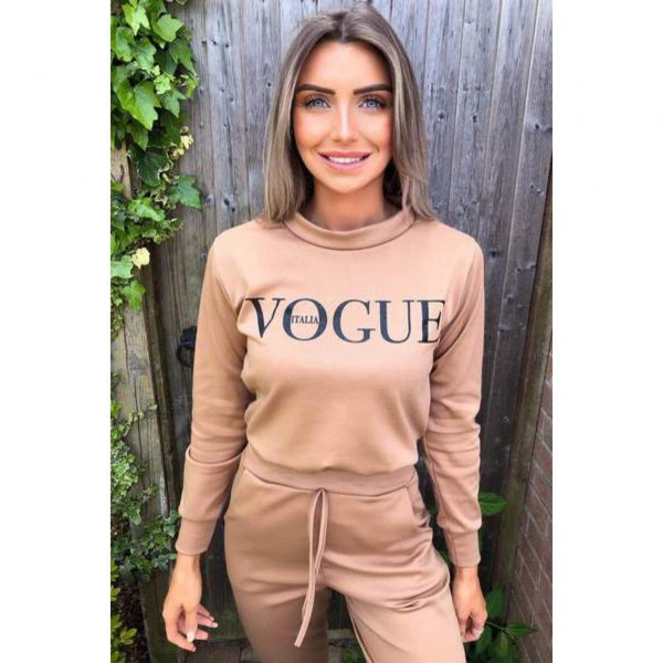 Beige Vogue Loungesuit