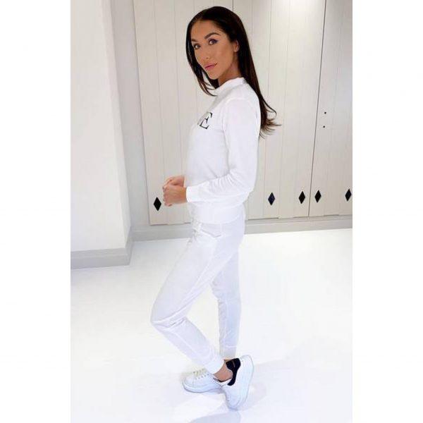 White Vogue Loungesuit