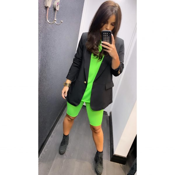 Neon Green Co-Ord