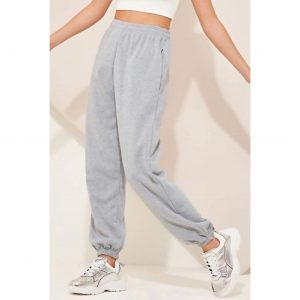 Light Grey Baggy Joggers