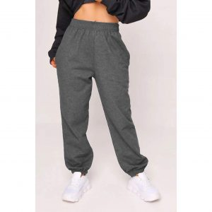 Charcoal Grey Baggy Joggers
