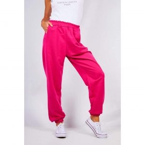 Pink Baggy Joggers