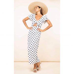 Dancing Leopard La Palma Maxi White Dotty