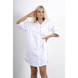 White Oversized Shirt