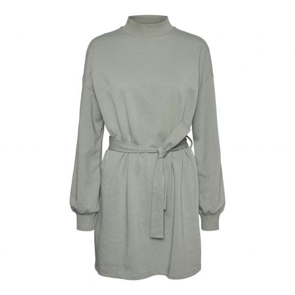 Slate Grey Sweat Dress
