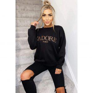 J'adore Sweater in Black