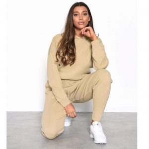 Oatmeal Knit Lounge Suit