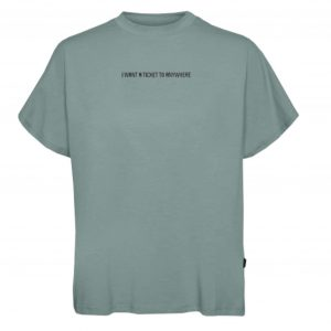 "Sage Green ""Ticket to Anywhere"" tshirt"