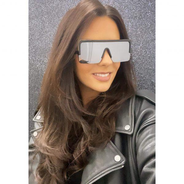 Flatbrow Square Sunglasses Gun Metal