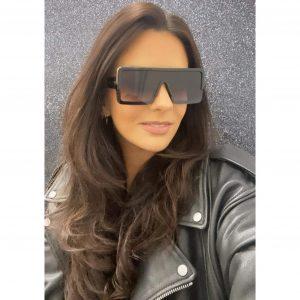 Flatbrow Square Sunglasses Black