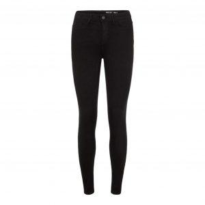 Noisy May 'Callie' Black High Waist Jeans