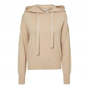 Knit Hoody in Nomad