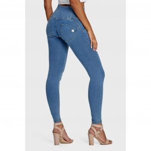 Freddy Light Denim High Waist Jeans (7/8 length)