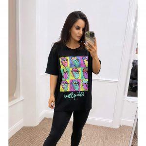 Multi Colour Rolling Stones T-shirt