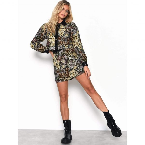 Jacquard Print Jacket (matching skirt available)